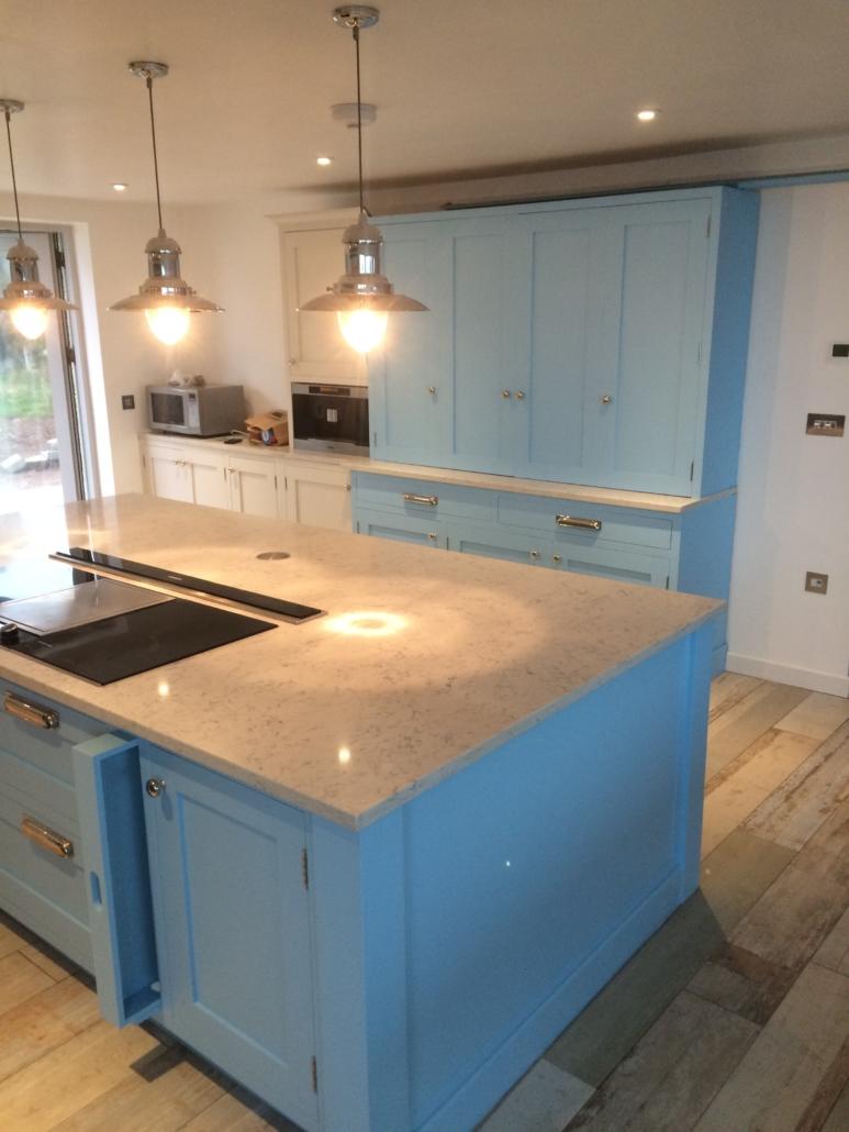 Incredible Spray Or Hand Painted Finish Kitchen Edit Kitchen Download Free Architecture Designs Estepponolmadebymaigaardcom